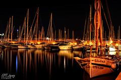 Barcos (E.M.Lpez) Tags: puerto noche mar agua barco barcos agosto reflejo verano nocturna vela mallorca palma pesca velas mediterrneo baleares bote velero veleros 2014 palmademallorca yate pesquero embarcacin islasbaleares barcodevela