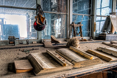 Shift Over (stephencurtin) Tags: california park dusty interiors state historic photographs bodie hdr thechallengefactory