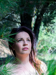 Chloe - amongst Pine Trees (jasonclarkphotography) Tags: light newzealand christchurch portrait beach model natural sony chloe nex canterburynz spencerpark nex5 jasonclarkphotography
