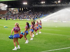 Crystal Palace cheerleaders (Paul-M-Wright) Tags: uk girls england sexy london football october chelsea cheerleaders crystal soccer saturday palace v babes match 18 premier league 2014 thecrystals