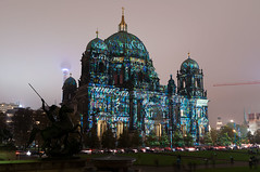 Festival Of Lights 2014 - Berlin Cathedral Pattern #4 (Sebastian Niedlich (Grabthar)) Tags: light color building berlin church colors architecture germany deutschland lights nikon cathedral illumination sigma festivaloflights berlinerdom 2014 berlinmitte d90 berlincathedral fol grabthar sebastianniedlich oct14 nikond90 sigma182003563dcos festivaloflights2014