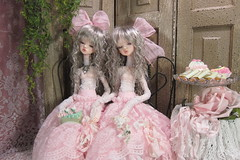 Laia Twins (Fair and Forgotten Dolls, TatteredHearts) Tags: dim laia dck07body