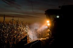 Harvest 14 (brian.abeling) Tags: windmill corn harvest iowa combine ag agriculture turbine windturbine windfarm johndeere blairsburg