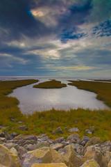 Towards the severn estuary (Tony Dandridge) Tags: seascape wales landscape seascapes estuary severn newport welsh gwent rspb