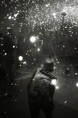Valour (O9k) Tags: backlight children kid fireworks folklore sparks sitges festamajor 2014 jupiter8 russianlens sovietlens mirrorless guspires sonyalpha7 ilce7