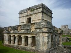 P1020378 (ferenc.puskas81) Tags: america mexico temple ruins riviera maya central july tulum 2010 centrale messico luglio tempio frescoes