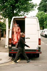 Pentax Espio 200 (danielcane) Tags: road street trees people colour tree london film animals flesh 35mm walking dead person nw pentax ps 200iso meat iso butcher negative 35mmfilm 200 figure vista vehicle plus parked analogue van corpse figures butchers corpses autofocus cricklewood colournegative c41 northwestlondon espio iqzoom agfaphoto pentaxespio nwlondon pentaxiqzoom pentaxespio200 pentaxiqzoom200 agfaphotovistaplus