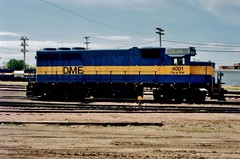 DME 4001 - Huron, SD (MinnKota Railfan) Tags: railroad blue minnesota train river gold gm pacific south engine rail railway loco canadian falls thief locomotive division cp eastern sd10 dakota huron dme emd sd402 sd9 gp40 electromotive