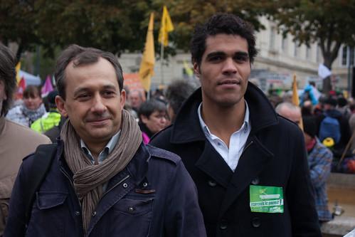 Christophe Porquier et Mohammed Anaya