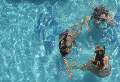 Swim (JshBrks) Tags: girls holiday wet water pool swim turkey villa birdseye