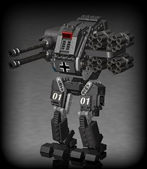 Götterdämmerung project (Sunder_59) Tags: germany lego military nazi wwii soviet vehicle mecha mech povray acv moc ldd