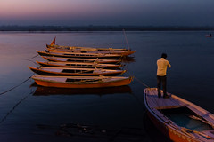 Dawn in Varanasi, India (ValleyNinja) Tags: street travel india colour 35mm asia fuji varanasi uttarpradesh x100s