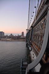 New York City (Billy W Martins ) Tags: newyorkcity bridge sunset ny newyork nikon manhattan manhattanbridge d7100