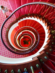 Spiral staircase (5ERG10) Tags: ocean pink red summer orange holiday abstract sergio yellow mobile architecture stairs de spiral puerto carpet island hotel islands la spain europe child purple 5 perspective shapes running atlantic cruz staircase botanico tenerife hotels canary colourful canaryislands leading puertodelacruz bannister nexus spirale the the hotelbotanico world amiti 5erg10