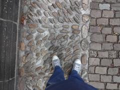 Chucks (Oli-unterwegs) Tags: old blue boy man stone germany stars shoe shoes all boots steine converse nrw mann blau düsseldorf hellblau schuhe chucks allstars schuh meine kaiserswerth düsseldorfkaiserswerth