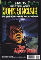 John Sinclair 0829 (micky the pixel) Tags: roman horror devil pulp heft teufel johnsinclair jasondark dimenovels groschenheft groschenromane basteiverlag geisterjgerjohnsinclair deralpenteufel