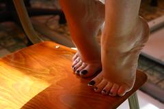 IMG_4989 (carlito421) Tags: art feet foot toes nail pieds frenchpedicure foofish