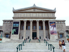 "Front of The Field Museum building • <a style=""font-size:0.8em;"" href=""http://www.flickr.com/photos/34843984@N07/15516408816/"" target=""_blank"">View on Flickr</a>"