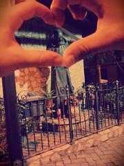 Nel mio cuore PADRE PIO (vitoegiusy) Tags: italy italia lg villa sicily piazza cuore santo sicilia pio padrepio realmonte