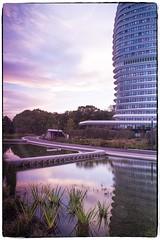 DUO... (a.stokman) Tags: longexposure sunset architecture zonsondergang duo groningen architectuur unstudio arjostokman