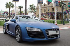 Audi R8 V10 (effeNovanta - YOUTUBE) Tags: cars car video montecarlo monaco gt audi supercar v10 supercars r8 youtube
