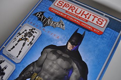 Sprukits! (skipthefrogman) Tags: fun toy action figure batman kit bandai spru sprukits