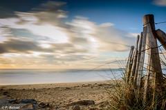 Plage de Sainte-Barbe  Plouharnel (patrice.baissac) Tags: ocean longexposure beach clouds brittany bretagne nuages plage morbihan ocan poselongue plouharnel baiedequiberon