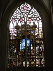 Witraż (magro_kr) Tags: brussels church window architecture temple cathedral belgium belgique belgie belgië bruxelles stainedglass brussel okno katedra kosciol kościół architektura belgia bruksela swiatynia witraz świątynia witraż