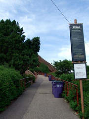 "Red Rocks Amphitheater entrance • <a style=""font-size:0.8em;"" href=""http://www.flickr.com/photos/34843984@N07/15544466175/"" target=""_blank"">View on Flickr</a>"