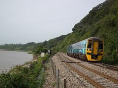 Arriva Trains Wales, 158822, Gatcombe (nmbsfoureightseven) Tags: diesel bahn ferrovia passengertrains gatcombe class158 arrivatrainswales ukrailways 158822 engelsetreinen trainsanglais britischezuege