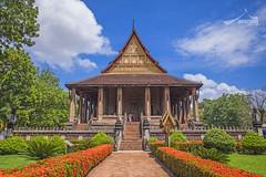 Haw Phra Kaew temple Vientiane, Laos