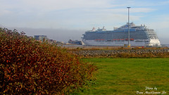 Cruise Ships in Saint John October 15 2014_9113 16x9 s (DaveyMacG) Tags: canada newbrunswick cruiseship bayoffundy saintjohn royalprincess harbourpassage fortlatour tamron18270
