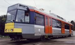 LRT Hong Kong Tramset N 1001. (Franky De Witte - Ferroequinologist) Tags: de eisenbahn railway estrada chemin fer spoorwegen ferrocarril ferro ferrovia