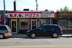 U.F.O. Pizza (pokoroto) Tags: summer canada st paul august ufo pizza alberta 2014 8  hachigatsu  hazuki   leafmonth 26