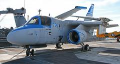 S-3B Viking (ahisgett) Tags: san francisco california uss hornet oakland cv12 aircraft aeroplane