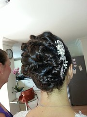 """Bridal Hair by Claire Aston • <a style=""""font-size:0.8em;"""" href=""""http://www.flickr.com/photos/36560483@N04/15592936761/"""" target=""""_blank"""">View on Flickr</a>"""
