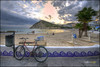 (0267/14) Una bicicleta en Finestrat (Pablo Arias) Tags: españa naturaleza nature photoshop mar spain agua colours playa colores alicante cielo nubes atardeceres benidorm smörgåsbord composición villajoyosa finestrat photomatix sigma1020 olequebonito nikond300 greatmanipulart grouptripod olétusfotos goldenvisions pabloarias