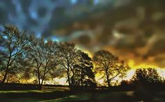 Second time around .... (Explore) (Sandalwood19) Tags: autumn warwickshire cloudsstormssunsetsandsunrises