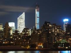 45 Degrees of 432 (beanhead4529) Tags: city nyc newyorkcity urban skyline manhattan midtown queens gothamist longislandcity curbed gantryplazastatepark microfourthirds olympus45mm olympusem5 432parkavenue