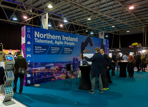 THE NORTHERN IRELAND STAND AT THE WEB SUMMIT DUBLIN  2014 Ref-1004