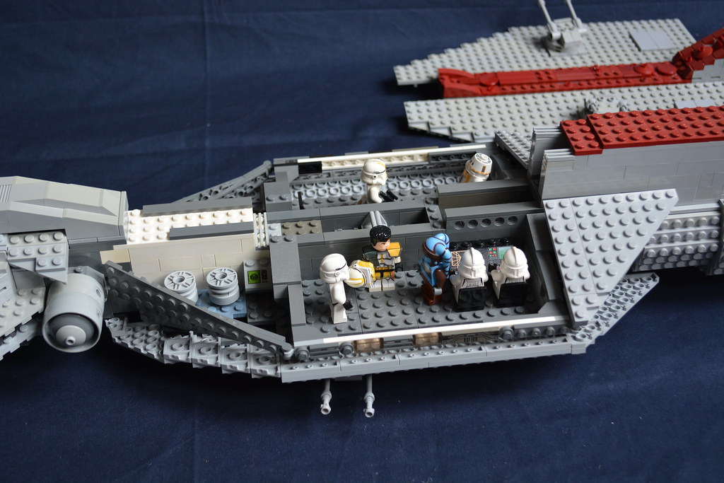 The world 39 s best photos of frigate and republic flickr - Lego croiseur imperial ...