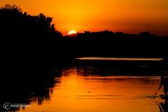 Sunset! (Siamak Memarian) Tags: sunset iran esfahan isfahan zayanderoud
