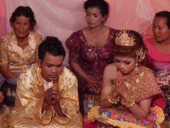 Khmer wedding in a village ,Cambodia