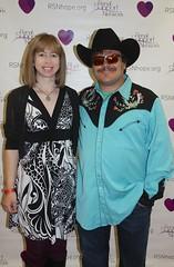 jenna and jack at charity poker tournament