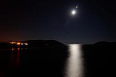 Morze nocą   Sea at night