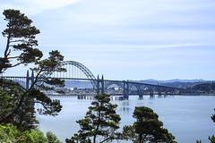 Yaquina Bay Bridge, Newport,  Oregon (icetsarina) Tags: bridge harbor ocean pacific coast bay oregon newport yaquina