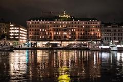 The Grand hotel by night (soilethecurious) Tags: stockholm night sweden hotel grand strandvägen