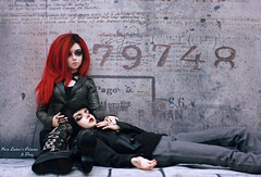 An abrupt holt (pure_embers) Tags: pure laura embers resin bjd 13 sd doll dolls ns uk girl elfdoll soah rainy soahrainy pureembers pureemberscrimson crimson photography photo ball joint red hair gothic dark msdoll drayton man boy dray embersdray england couple