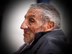 Man in Profile, Street Portrait (klauslang99) Tags: streetphotography klauslang portrait person people queretaro mexico profile