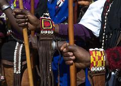 Women holding traditional sticks during the Gada system ceremony in Borana tribe, Oromia, Yabelo, Ethiopia (Eric Lafforgue) Tags: adults africa badhaasa beads boran borana borena bracelets colourpicture culturalheritage eastafrica ethiopia ethiopia0317376 gaada gada gadasystem gadaa horizontal hornofafrica oromia oromiya oromo oromya outdoors stick sticks traditionalculture tribalculture twopeople unesco unrecognizablepeople womenonly yabello yabelo et